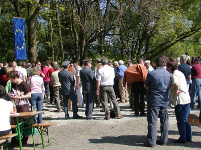 Otevření hranice se sousední rakouskou vesnicí Heinrichsreith 2006