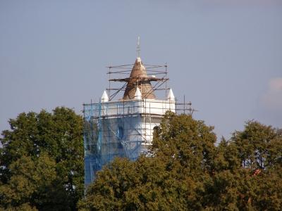 Rekonstrukce kostelní věže 2008